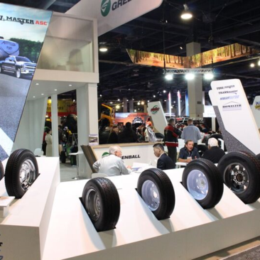 Greenball Tire Corporation Well Received at the 2018 SEMA Show