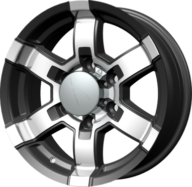 Spoke 581 Aluminum Trailer Wheels
