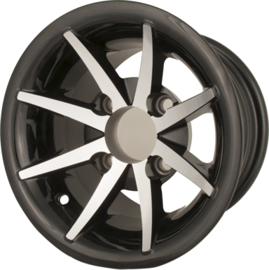 Golf Cart Aluminum Wheels