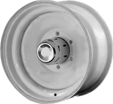 Solid Steel Trailer Wheel