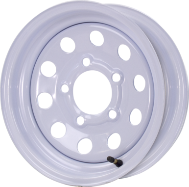 Modular Steel Trailer Wheels