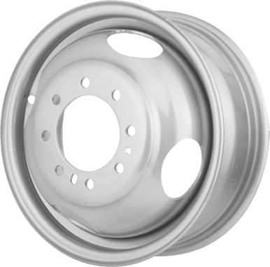 Dual Steel Trailer Wheels