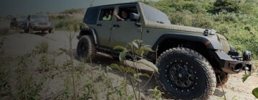 Offroading in Rubicon